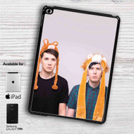 "Dan And Phil Small Llama iPad 2 3 4 iPad Mini 1 2 3 4 iPad Air 1 2 | Samsung Galaxy Tab 10.1"" Tab 2 7"" Tab 3 7"" Tab 3 8"" Tab 4 7"" Case"