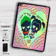 "Harley Quinn and Joker Suicide Squad iPad 2 3 4 iPad Mini 1 2 3 4 iPad Air 1 2 | Samsung Galaxy Tab 10.1"" Tab 2 7"" Tab 3 7"" Tab 3 8"" Tab 4 7"" Case"