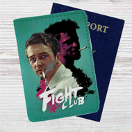 Fight Club Custom Leather Passport Wallet Case Cover