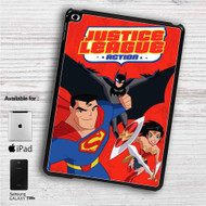 "Justice League Action iPad 2 3 4 iPad Mini 1 2 3 4 iPad Air 1 2 | Samsung Galaxy Tab 10.1"" Tab 2 7"" Tab 3 7"" Tab 3 8"" Tab 4 7"" Case"