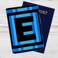 Mega Man E-Tank Energy Drink Custom Leather Passport Wallet Case Cover