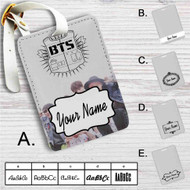 Bangtan Boys BTS Custom Leather Luggage Tag
