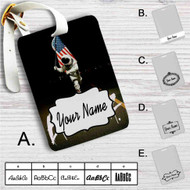 Blink 182 Since 1992 Custom Leather Luggage Tag