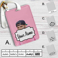 Drake Custom Leather Luggage Tag