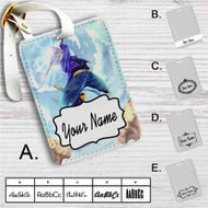 Future Trunks Dragon Ball Z Custom Leather Luggage Tag