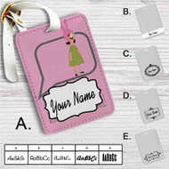 Louise Belcher Quotes Custom Leather Luggage Tag