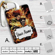 Phoenix Jean and Wolverine Custom Leather Luggage Tag