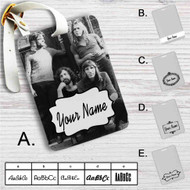 Pink Floyd Family Custom Leather Luggage Tag