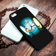 Rick And Morty Portal Gun on your case iphone 4 4s 5 5s 5c 6 6plus 7 case / cases