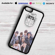 Bangtan Boys BTS iPhone 4/4S 5 S/C/SE 6/6S Plus 7| Samsung Galaxy S4 S5 S6 S7 NOTE 3 4 5| LG G2 G3 G4| MOTOROLA MOTO X X2 NEXUS 6| SONY Z3 Z4 MINI| HTC ONE X M7 M8 M9 M8 MINI CASE
