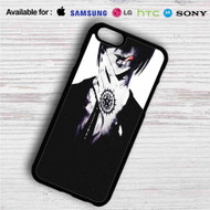 Black Butler Sebastian Michaelis iPhone 4/4S 5 S/C/SE 6/6S Plus 7| Samsung Galaxy S4 S5 S6 S7 NOTE 3 4 5| LG G2 G3 G4| MOTOROLA MOTO X X2 NEXUS 6| SONY Z3 Z4 MINI| HTC ONE X M7 M8 M9 M8 MINI CASE