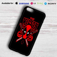 Deadpool Wade Wilson iPhone 4/4S 5 S/C/SE 6/6S Plus 7| Samsung Galaxy S4 S5 S6 S7 NOTE 3 4 5| LG G2 G3 G4| MOTOROLA MOTO X X2 NEXUS 6| SONY Z3 Z4 MINI| HTC ONE X M7 M8 M9 M8 MINI CASE