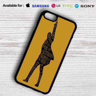 Hamilton King of Broadway iPhone 4/4S 5 S/C/SE 6/6S Plus 7| Samsung Galaxy S4 S5 S6 S7 NOTE 3 4 5| LG G2 G3 G4| MOTOROLA MOTO X X2 NEXUS 6| SONY Z3 Z4 MINI| HTC ONE X M7 M8 M9 M8 MINI CASE