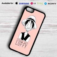 Straw Hat Luffy iPhone 4/4S 5 S/C/SE 6/6S Plus 7| Samsung Galaxy S4 S5 S6 S7 NOTE 3 4 5| LG G2 G3 G4| MOTOROLA MOTO X X2 NEXUS 6| SONY Z3 Z4 MINI| HTC ONE X M7 M8 M9 M8 MINI CASE