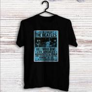 The Beatles Hollywood Bowl Custom T Shirt Tank Top Men and Woman
