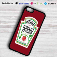 Heinz Tomato Ketchup iPhone 4/4S 5 S/C/SE 6/6S Plus 7| Samsung Galaxy S4 S5 S6 S7 NOTE 3 4 5| LG G2 G3 G4| MOTOROLA MOTO X X2 NEXUS 6| SONY Z3 Z4 MINI| HTC ONE X M7 M8 M9 M8 MINI CASE
