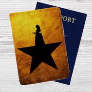 Peggy Schuyler Hamilton Music Custom Leather Passport Wallet Case Cover