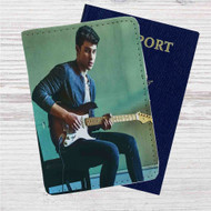 Shawn Mendes Ruin Custom Leather Passport Wallet Case Cover