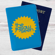 The Jigsaw Seen Custom Leather Passport Wallet Case Cover