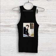 Cory Monteith Custom Men Woman Tank Top T Shirt Shirt
