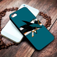 San Jose Sharks 4 on your case iphone 4 4s 5 5s 5c 6 6plus 7 case / cases
