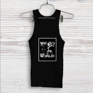 Luffy We Go to The New World Custom Men Woman Tank Top T Shirt Shirt