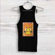 Pikachu as Mega Charizard Pokemon Custom Men Woman Tank Top T Shirt Shirt