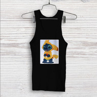 Stitch as Pikachu Pokemon Custom Men Woman Tank Top T Shirt Shirt