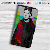 Avicii Custom Leather Wallet iPhone 4/4S 5S/C 6/6S Plus 7| Samsung Galaxy S4 S5 S6 S7 Note 3 4 5| LG G2 G3 G4| Motorola Moto X X2 Nexus 6| Sony Z3 Z4 Mini| HTC ONE X M7 M8 M9 Case