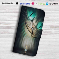 Cheshire Cat Alice in Wonderland Custom Leather Wallet iPhone 4/4S 5S/C 6/6S Plus 7| Samsung Galaxy S4 S5 S6 S7 Note 3 4 5| LG G2 G3 G4| Motorola Moto X X2 Nexus 6| Sony Z3 Z4 Mini| HTC ONE X M7 M8 M9 Case