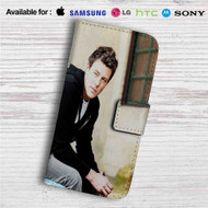 Cory Monteith Custom Leather Wallet iPhone 4/4S 5S/C 6/6S Plus 7| Samsung Galaxy S4 S5 S6 S7 Note 3 4 5| LG G2 G3 G4| Motorola Moto X X2 Nexus 6| Sony Z3 Z4 Mini| HTC ONE X M7 M8 M9 Case