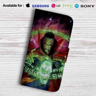 Doctor Strange Auction Marvel Custom Leather Wallet iPhone 4/4S 5S/C 6/6S Plus 7| Samsung Galaxy S4 S5 S6 S7 Note 3 4 5| LG G2 G3 G4| Motorola Moto X X2 Nexus 6| Sony Z3 Z4 Mini| HTC ONE X M7 M8 M9 Case