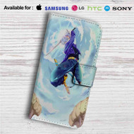 Future Trunks Dragon Ball Z Custom Leather Wallet iPhone 4/4S 5S/C 6/6S Plus 7| Samsung Galaxy S4 S5 S6 S7 Note 3 4 5| LG G2 G3 G4| Motorola Moto X X2 Nexus 6| Sony Z3 Z4 Mini| HTC ONE X M7 M8 M9 Case