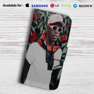 Lil Yachty Music Custom Leather Wallet iPhone 4/4S 5S/C 6/6S Plus 7| Samsung Galaxy S4 S5 S6 S7 Note 3 4 5| LG G2 G3 G4| Motorola Moto X X2 Nexus 6| Sony Z3 Z4 Mini| HTC ONE X M7 M8 M9 Case