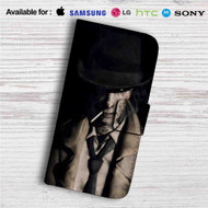 Nick Valentine Fallout 4 Custom Leather Wallet iPhone 4/4S 5S/C 6/6S Plus 7| Samsung Galaxy S4 S5 S6 S7 Note 3 4 5| LG G2 G3 G4| Motorola Moto X X2 Nexus 6| Sony Z3 Z4 Mini| HTC ONE X M7 M8 M9 Case