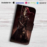 Ornstein Dark Souls Custom Leather Wallet iPhone 4/4S 5S/C 6/6S Plus 7| Samsung Galaxy S4 S5 S6 S7 Note 3 4 5| LG G2 G3 G4| Motorola Moto X X2 Nexus 6| Sony Z3 Z4 Mini| HTC ONE X M7 M8 M9 Case