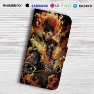 Phoenix Jean and Wolverine Custom Leather Wallet iPhone 4/4S 5S/C 6/6S Plus 7| Samsung Galaxy S4 S5 S6 S7 Note 3 4 5| LG G2 G3 G4| Motorola Moto X X2 Nexus 6| Sony Z3 Z4 Mini| HTC ONE X M7 M8 M9 Case