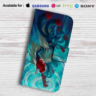 Pokemon Mega Lucario Art Custom Leather Wallet iPhone 4/4S 5S/C 6/6S Plus 7| Samsung Galaxy S4 S5 S6 S7 Note 3 4 5| LG G2 G3 G4| Motorola Moto X X2 Nexus 6| Sony Z3 Z4 Mini| HTC ONE X M7 M8 M9 Case