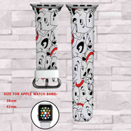 101 Dalmatians Custom Apple Watch Band Leather Strap Wrist Band Replacement 38mm 42mm