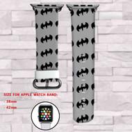 Batman Superheroes DC Comics Custom Apple Watch Band Leather Strap Wrist Band Replacement 38mm 42mm
