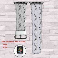 Stromtroopers STar Wars Custom Apple Watch Band Leather Strap Wrist Band Replacement 38mm 42mm