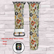 Studio Ghibli All Characters Custom Apple Watch Band Leather Strap Wrist Band Replacement 38mm 42mm
