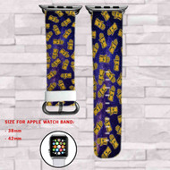 Thanos Hand The Avengers Custom Apple Watch Band Leather Strap Wrist Band Replacement 38mm 42mm
