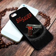 sig sauer 1 on your case iphone 4 4s 5 5s 5c 6 6plus 7 case / cases