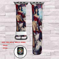 Ahri League of Legends Custom Apple Watch Band Leather Strap Wrist Band Replacement 38mm 42mm