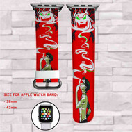 American Dragon Jake Long Custom Apple Watch Band Leather Strap Wrist Band Replacement 38mm 42mm