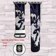 Batgirl DC Comics Custom Apple Watch Band Leather Strap Wrist Band Replacement 38mm 42mm