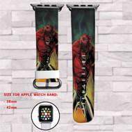 Beast Boy DC Comics Custom Apple Watch Band Leather Strap Wrist Band Replacement 38mm 42mm