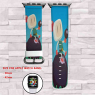 Bomberman Custom Apple Watch Band Leather Strap Wrist Band Replacement 38mm 42mm