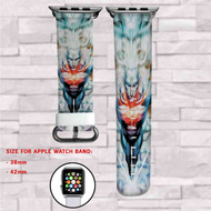 Captain Atom DC Comics Custom Apple Watch Band Leather Strap Wrist Band Replacement 38mm 42mm